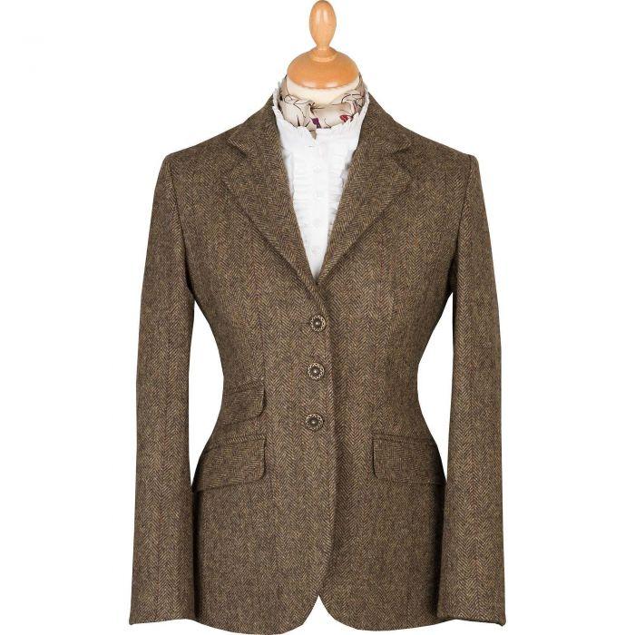 Forest Green T.ba Tweed Hacking Jacket