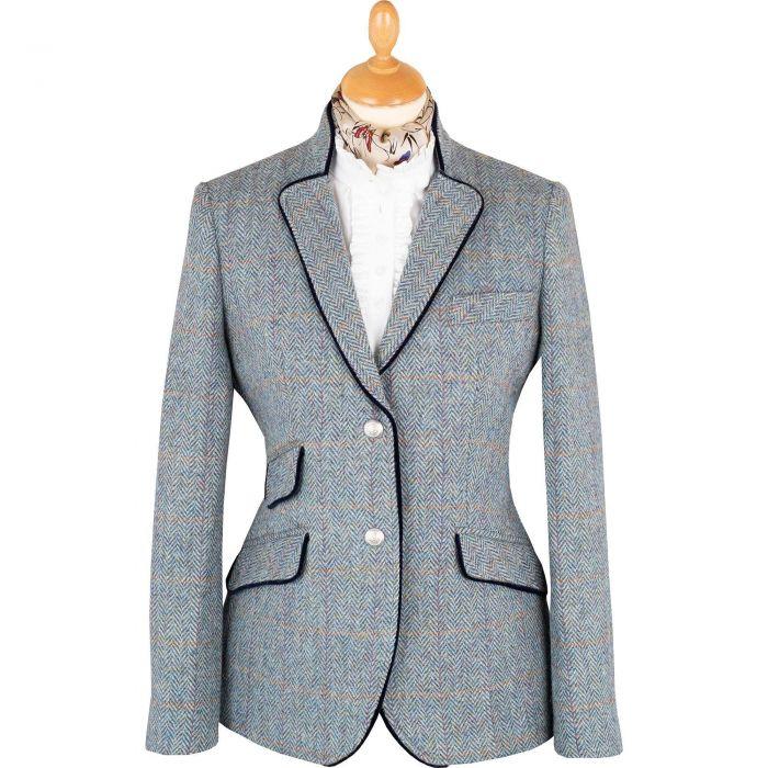 Blue Kempton Harris Tweed Neru Jacket