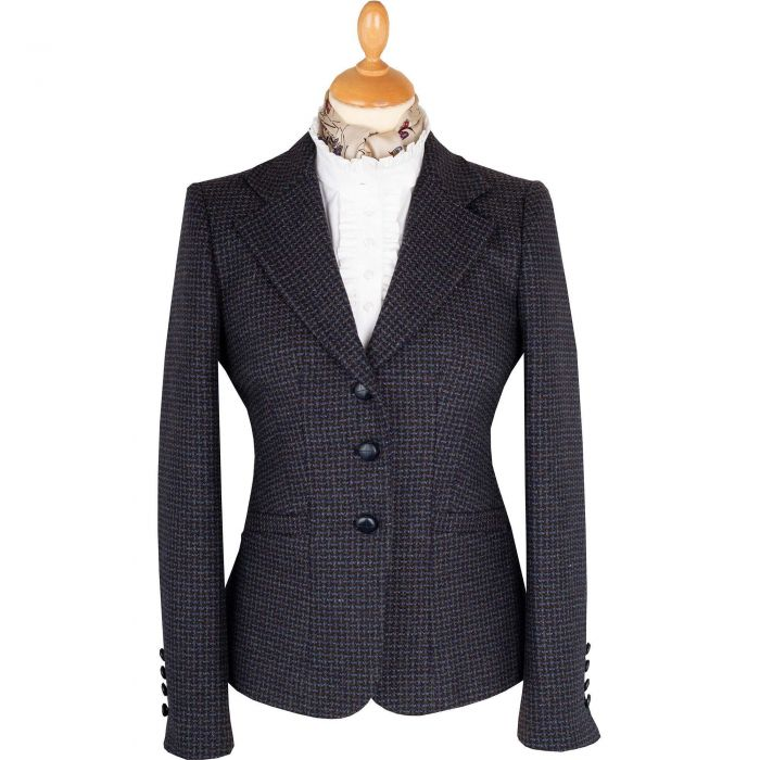 Blue Abbot Tweed Chelsea Jacket