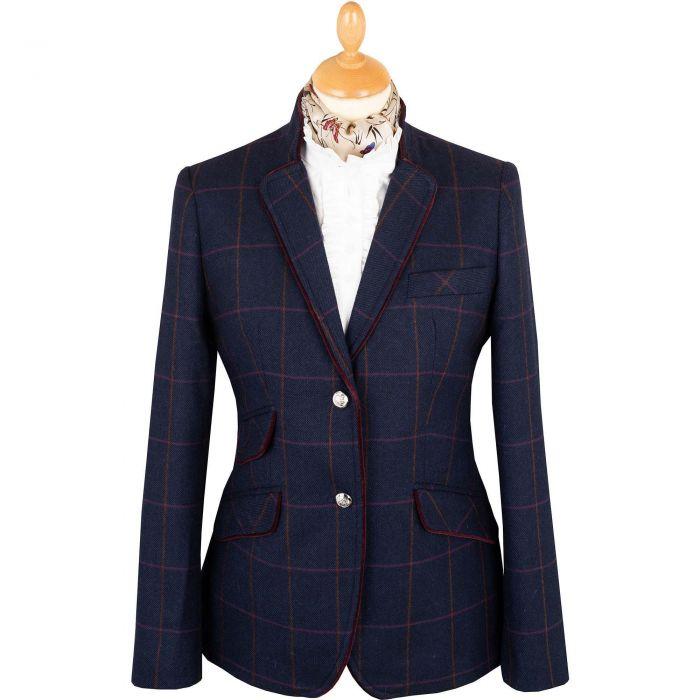 Blue Cowley Tweed Neru Jacket