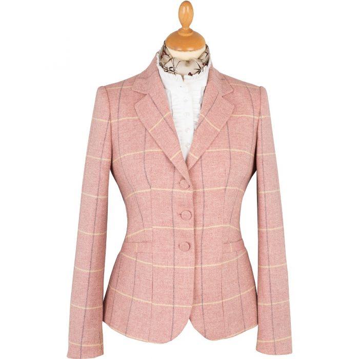 Pink Richmond Tweed Chelsea Jacket