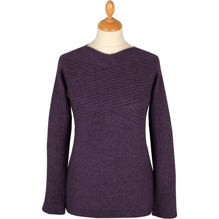 Plum Possum Cross Over Jumper