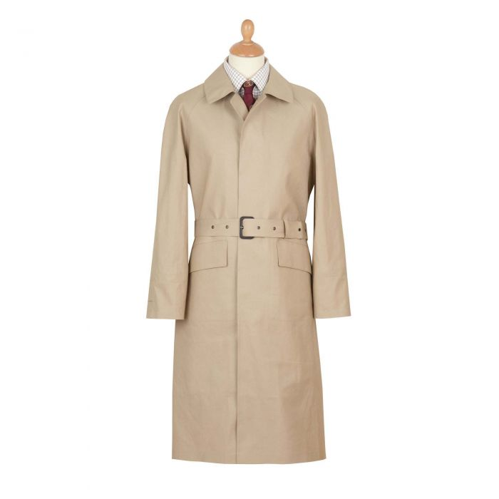 Fawn Hampton Mackintosh Raincoat