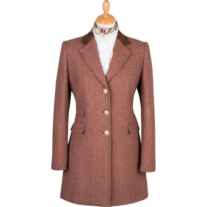 Pink Carlisle Short Classic Coat