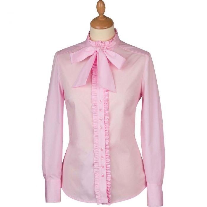 Pink Bow Pie Crust Shirt