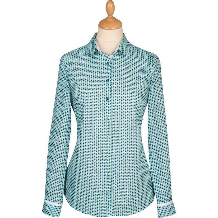 Fish Shoal Cotton Shirt