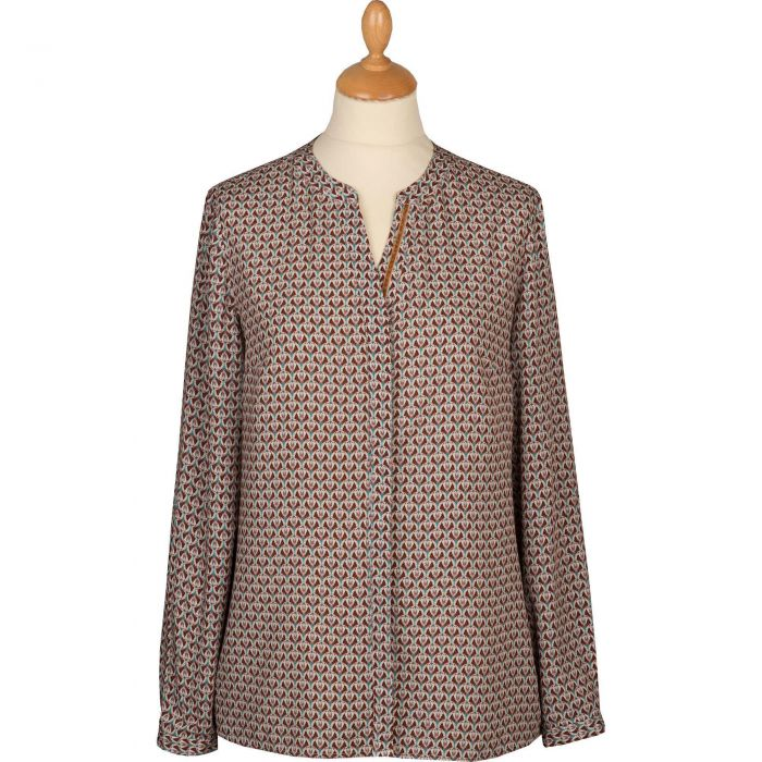Plum Pantages Liberty Tunic