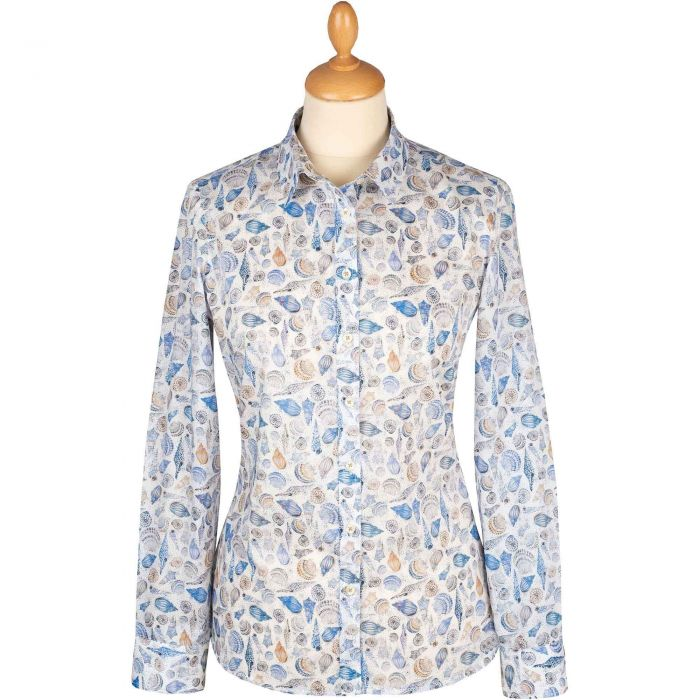 Sounds of the Sea Tana Lawn Liberty Shirt