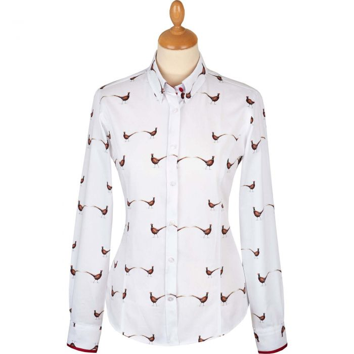 Fitted Pheasant Trim Shirt