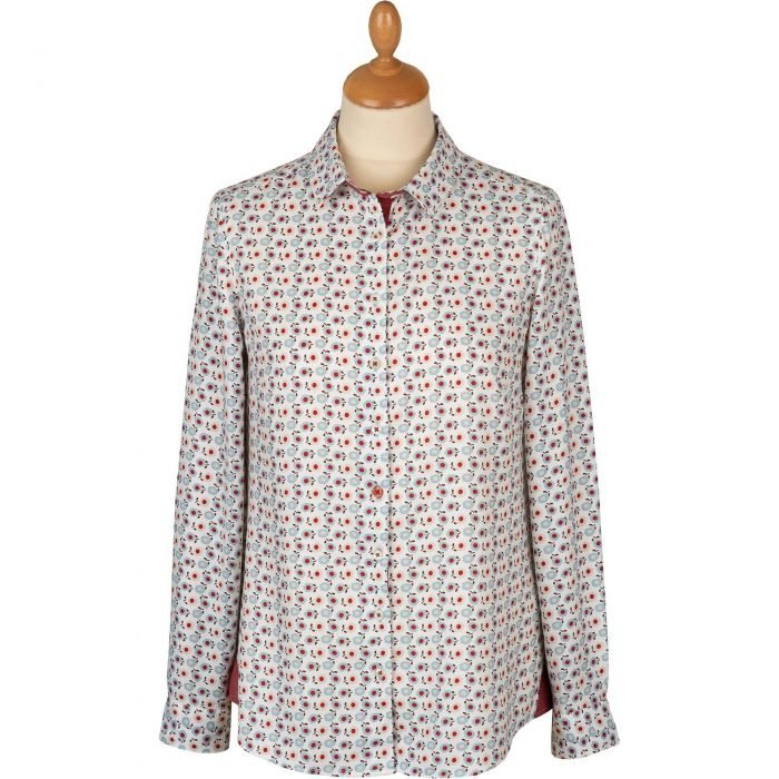 Peonies Viscose Shirt