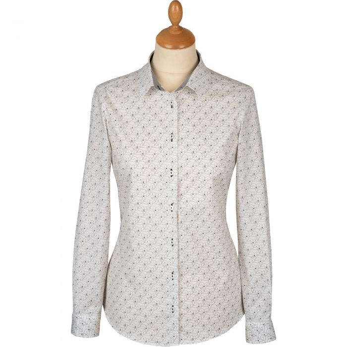 White Fox Cotton Shirt