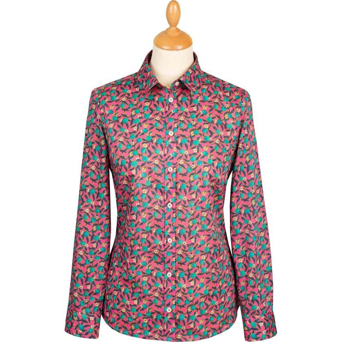 Pink Lemon Grove Liberty Shirt
