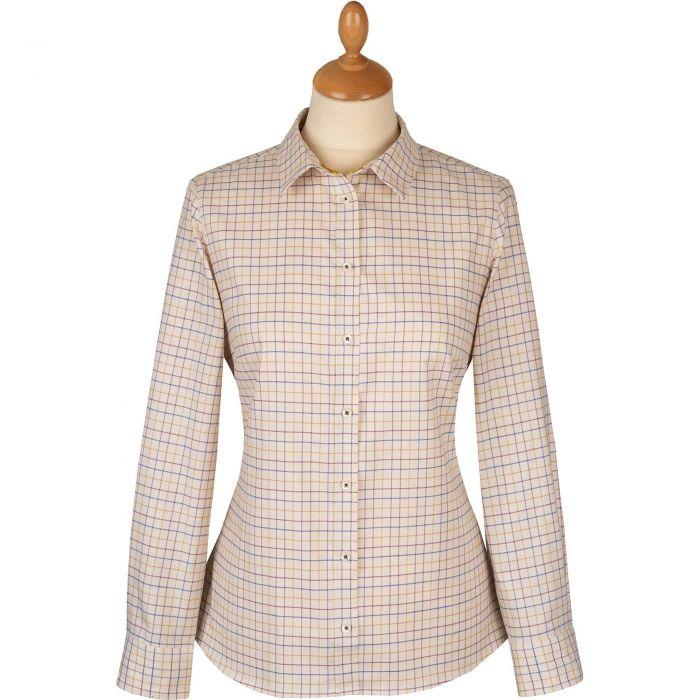 Plum Ochre Tattersall Shirt