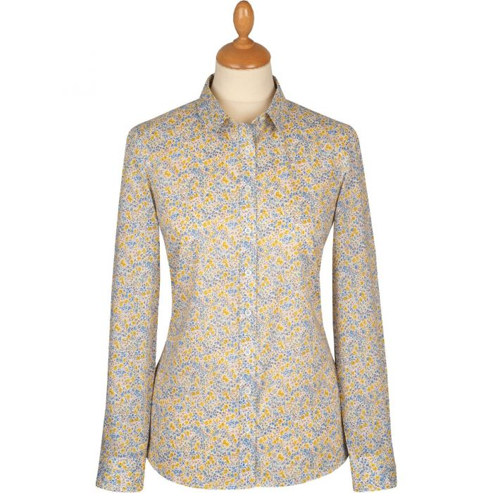 Yellow Phoebe Cotton Liberty Shirt
