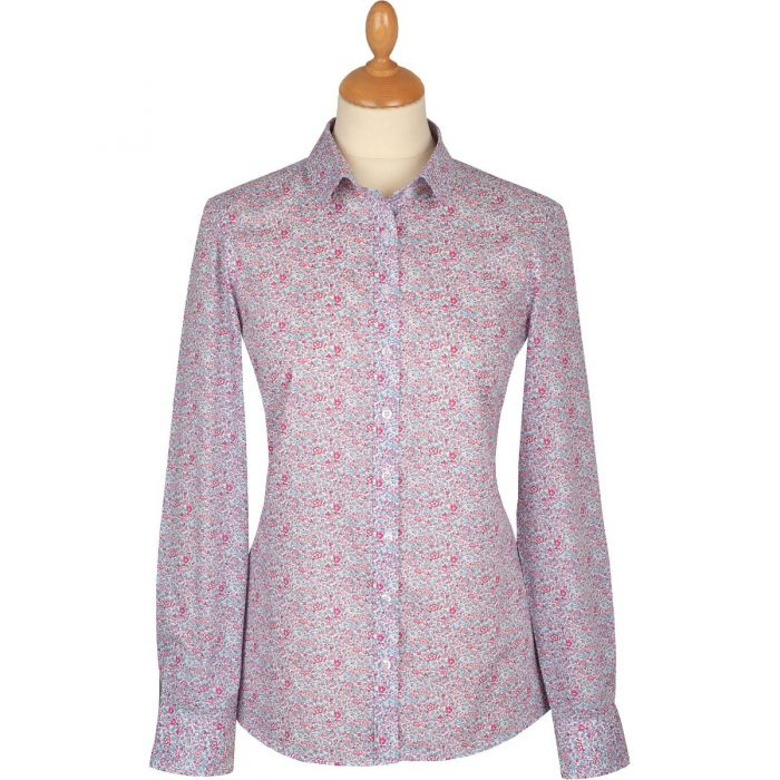 Pink Katie and Millie Liberty Cotton Shirt
