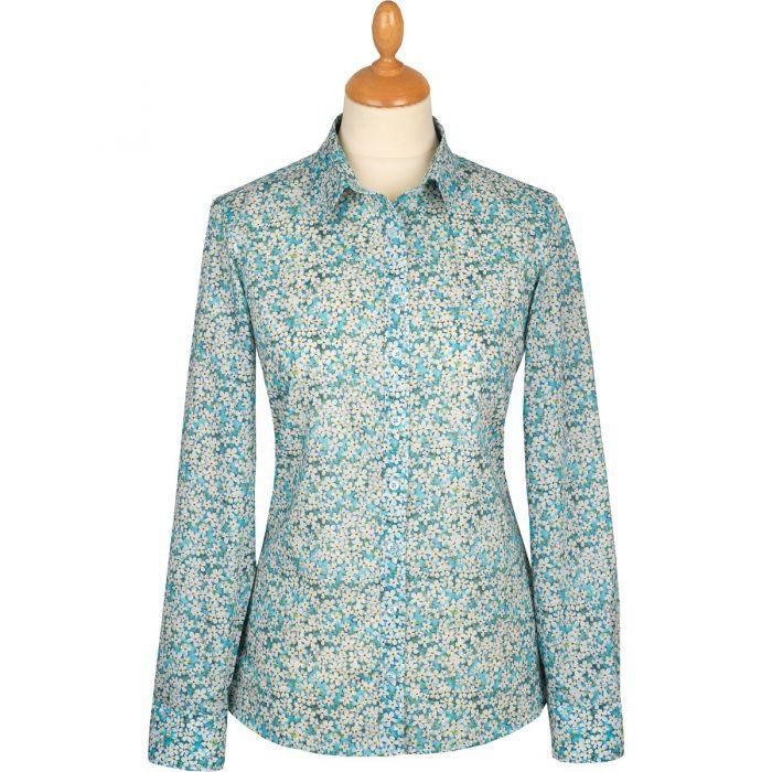 Petal Wish Liberty Cotton Shirt