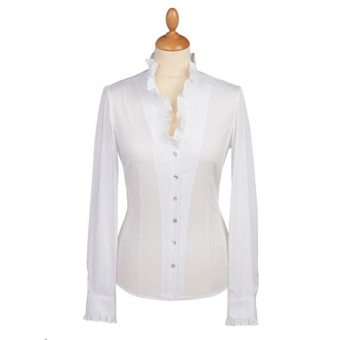 Frill Collared Shirt