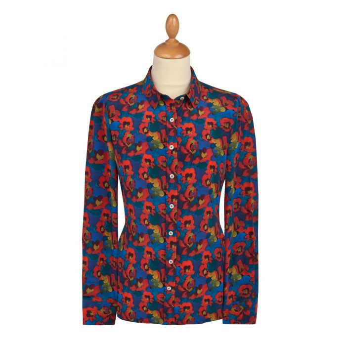 Jemma Rose Liberty Crepe Silk Shirt