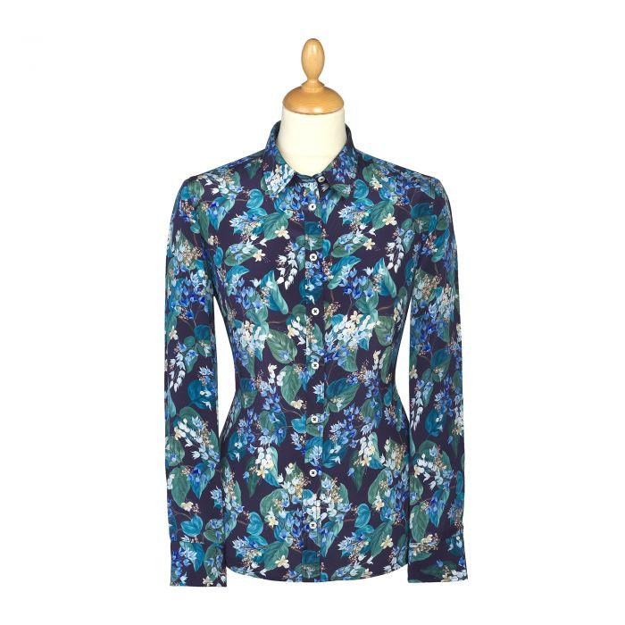 Osterley  Liberty Crepe Silk Shirt