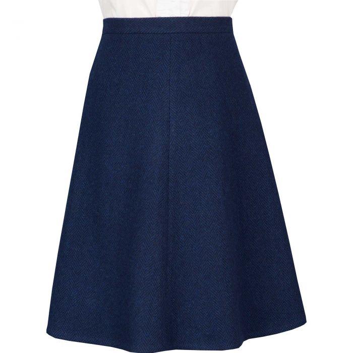 Carlisle A Line Tweed Skirt