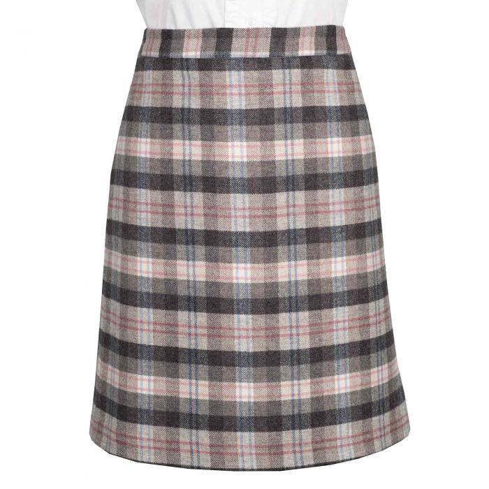 Ramsey Plaid Short Skirt