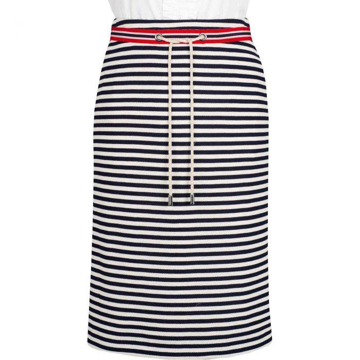 Stripe Nautical Pencil Skirt