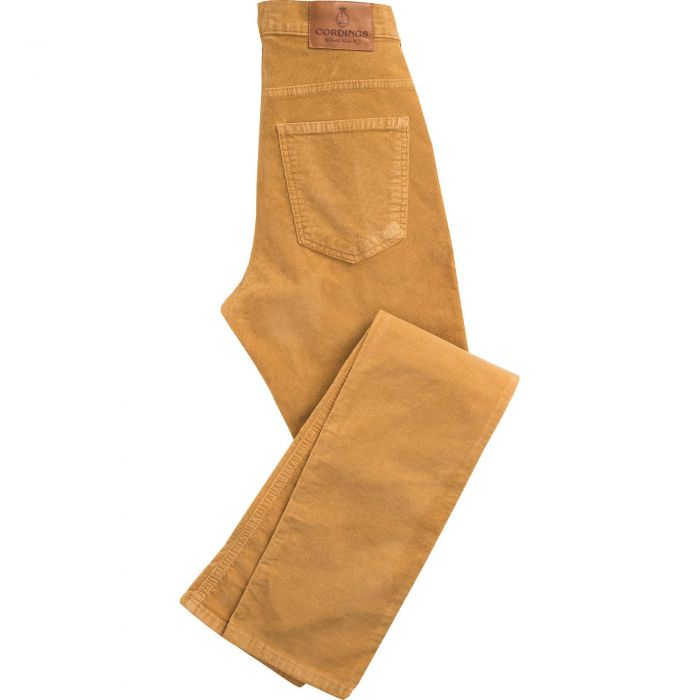 Tan Babycord Slim Jeans