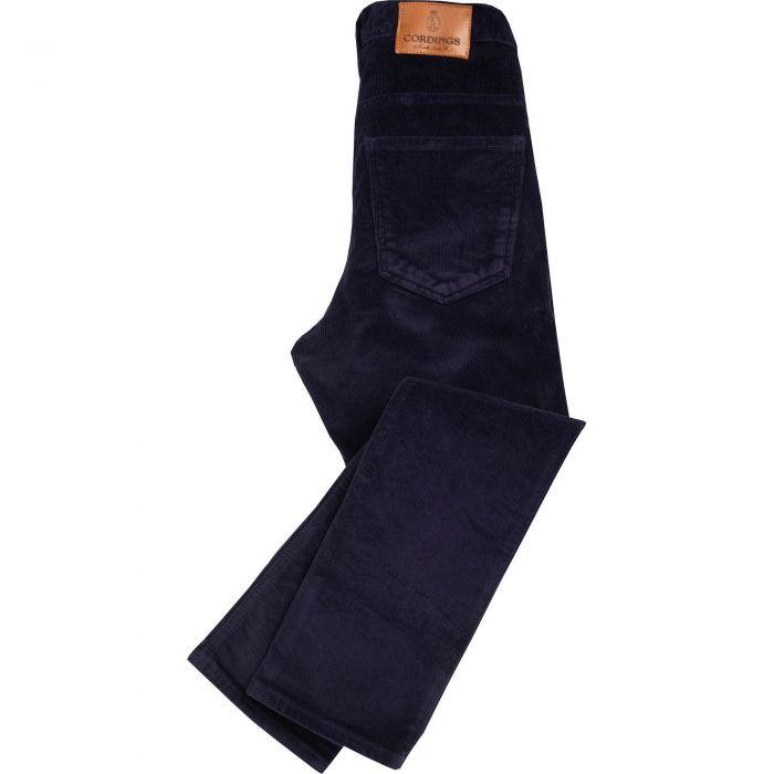 Navy Classic Stretch Corduroy Jeans