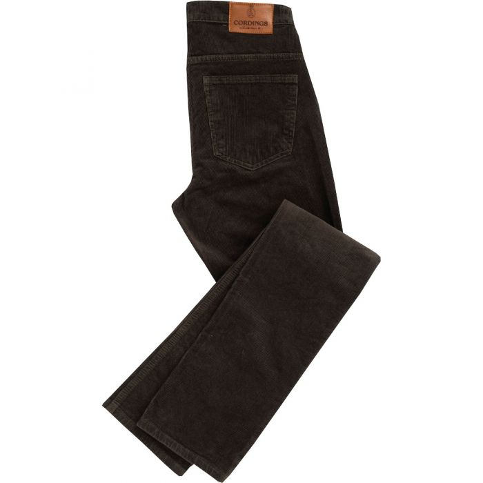 Green Olive Corduroy Trousers