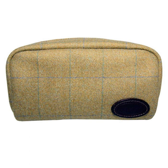 House Check Wash Bag