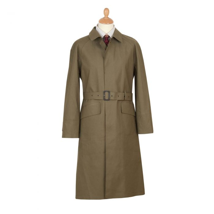 Khaki Hampton Mackintosh Raincoat