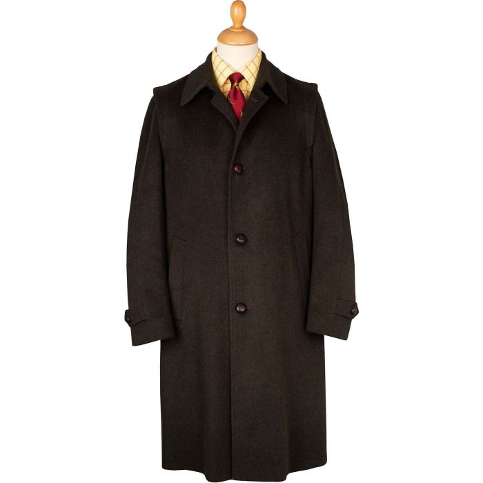 Green Austrian Loden Coat