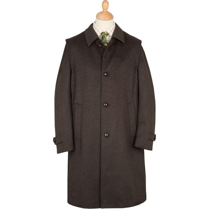 Moss Green Classic Loden Coat