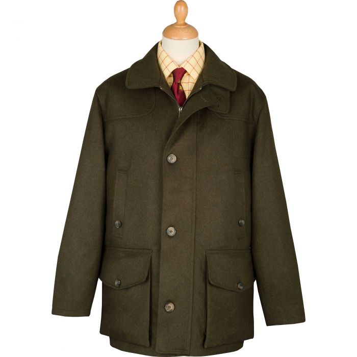 Chepstow Loden Field Coat
