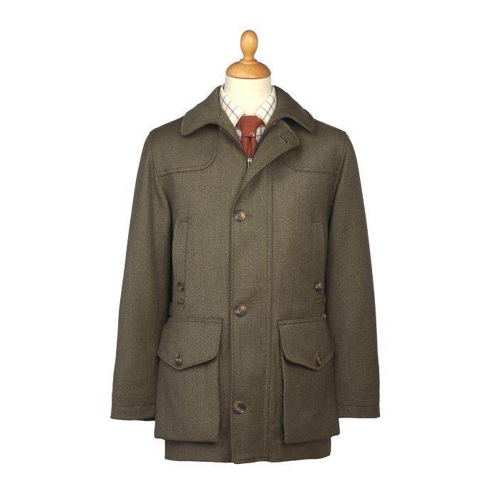 Hunter Green Chepstow Keepers Field Coat