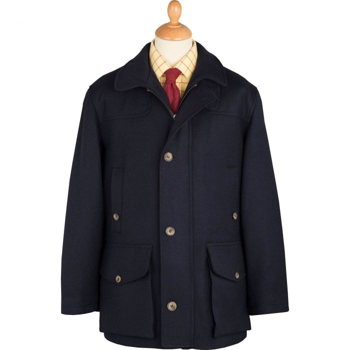 Navy Chepstow Keepers Field Coat