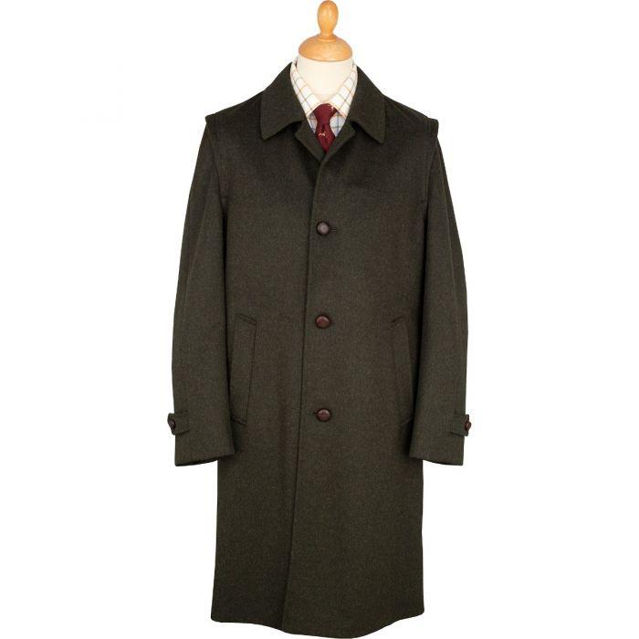 Green Austrian Loden Hubertus Coat