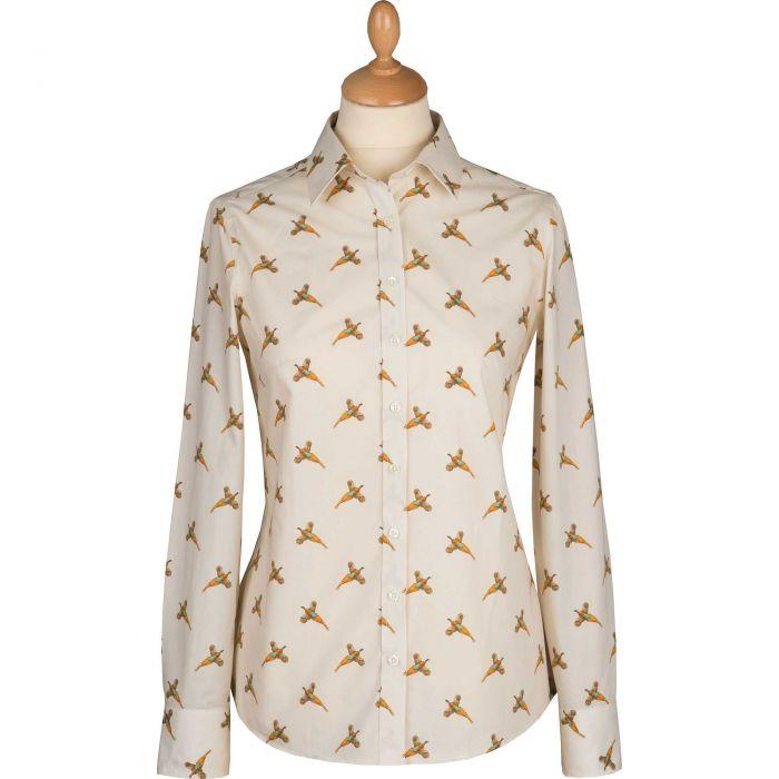 Flying Pheasant Cotton Shirt