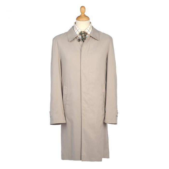 Beige Microfibre 3/4 Raincoat