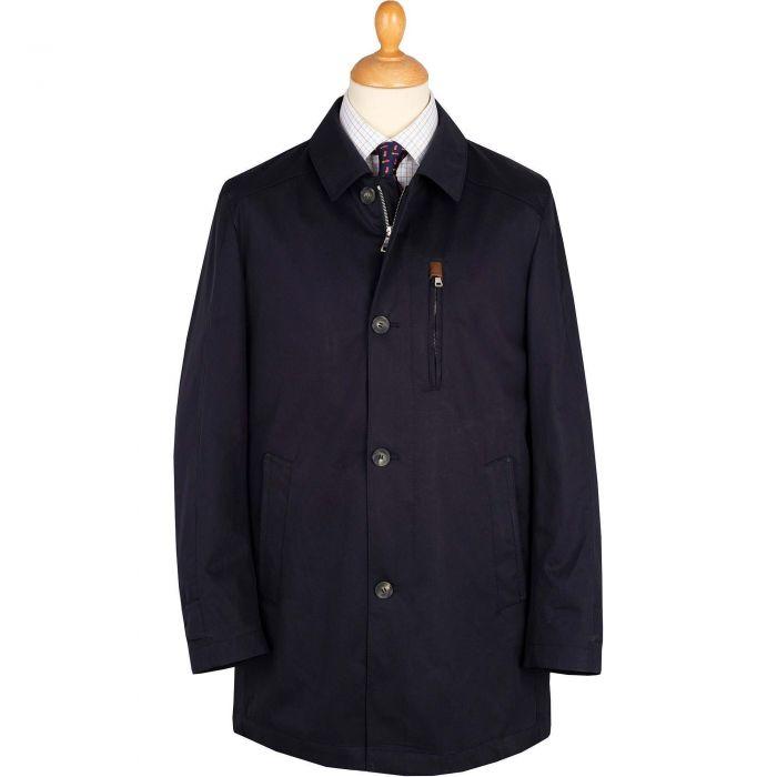 Navy Keswick Raincoat