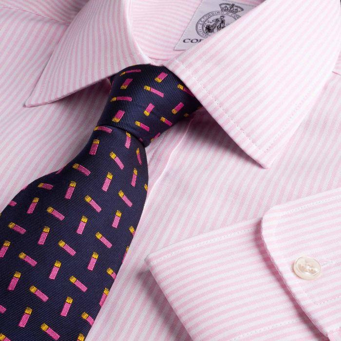 Pink Classic Oxford Stripe Shirt
