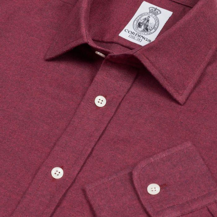 Wine Royal Brushed Shirt