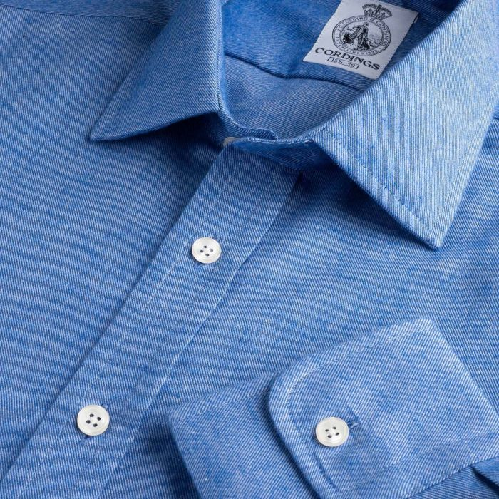 Sky Blue Royal Brushed Shirt