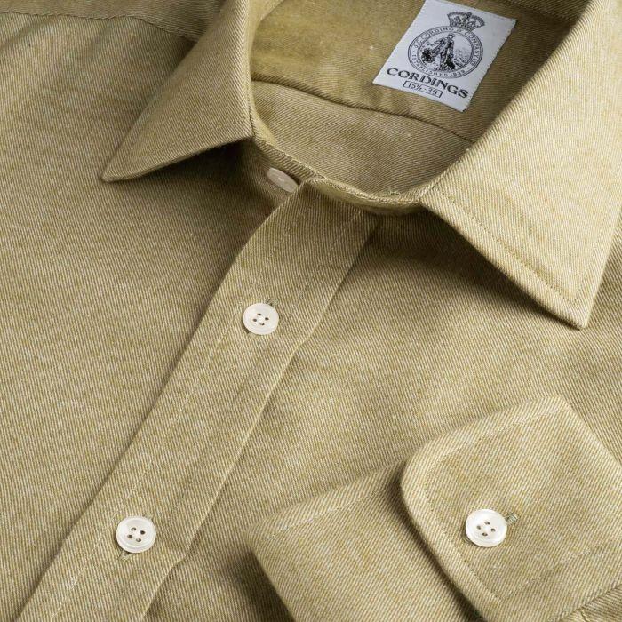Sage Green Royal Brushed Shirt