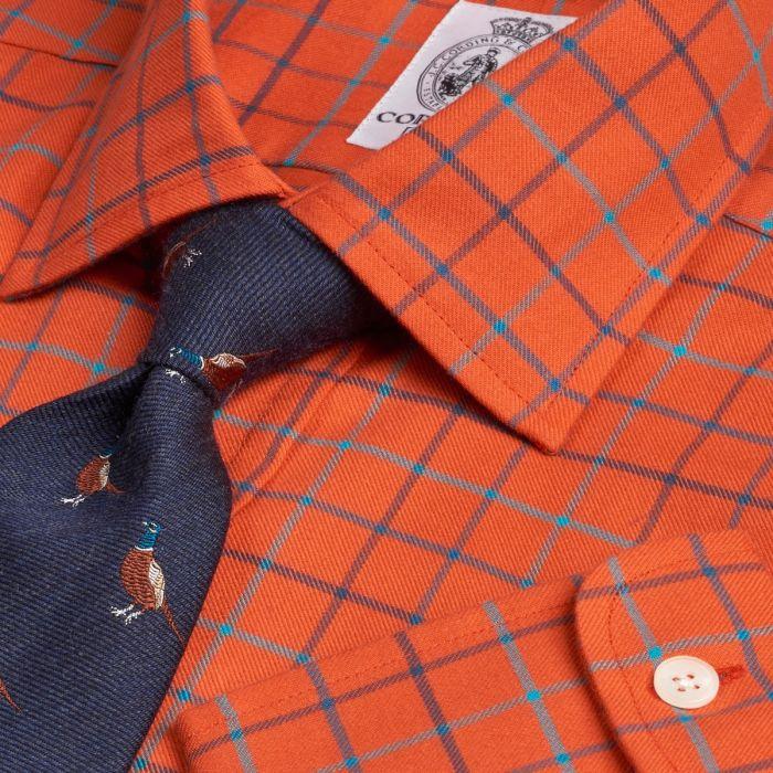 Rust Cromer Tattersall Shirt