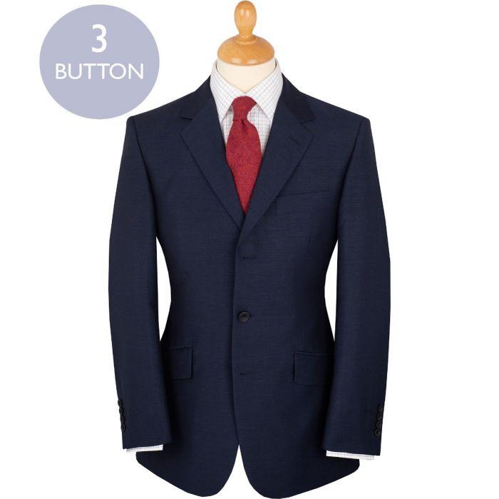 Blue 9oz Three Button Halstead Suit