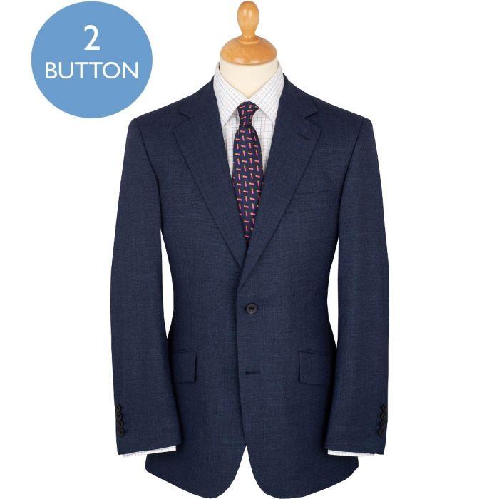 Navy 9oz Two Button Daniel Suit