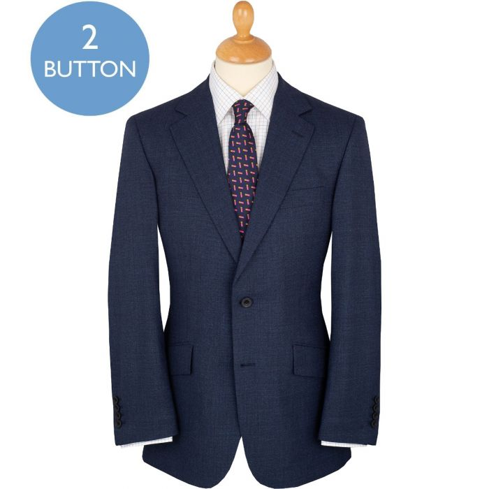 Dark Navy 8oz Two Button Trafalgar Travel Suit