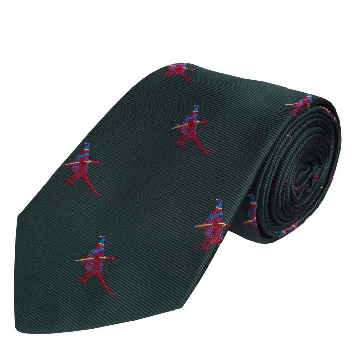 Forest Woven Silk Hunting Pheasant Tie