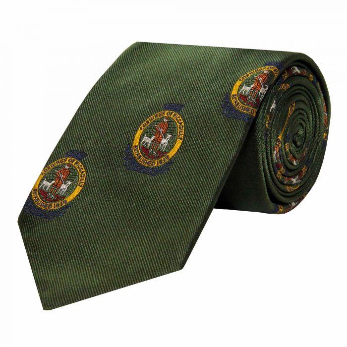 Olive Cordings Crest Silk Tie